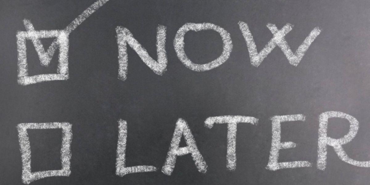 Evitare procrastinare