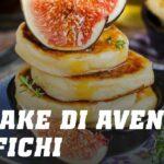 Pancake di Avena e Albumi con Fichi