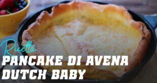 "Pancake di Avena stile ""Pancake Tedeschi"""