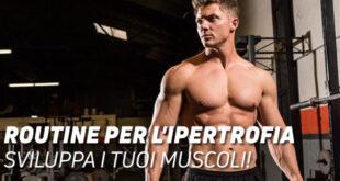 Routine di ipertrofia sviluppa i tuoi muscoli