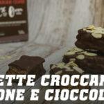 Barrette croccanti di Torrone e Cioccolato