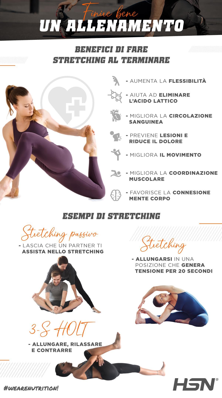Come finire bene un allenamento