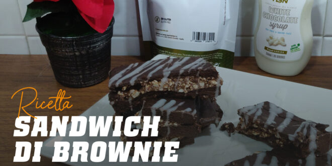 Sandwich di Brownie: la Merenda Perfetta