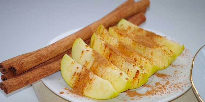 Cannelle et pomme