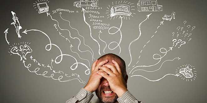 Stress du rythme de la vie quotidienne