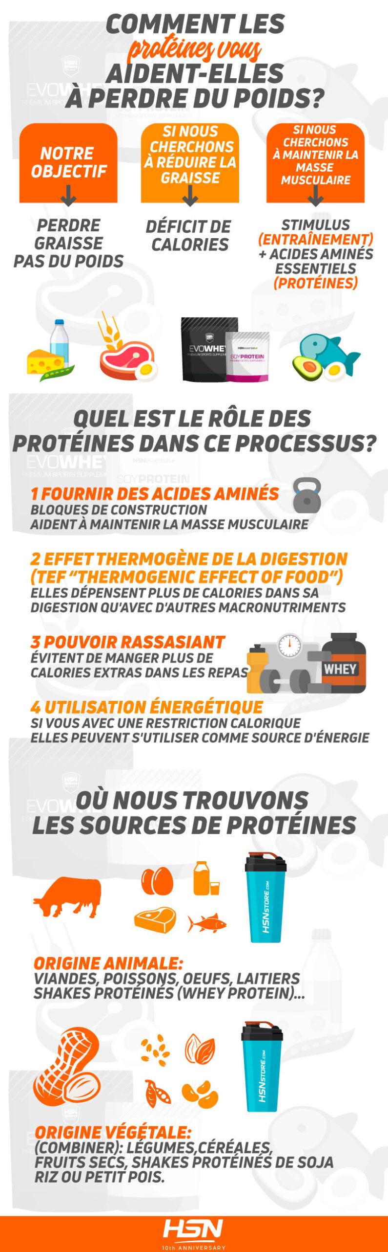 Comment les protéines aident-elles à perdre du poids ?