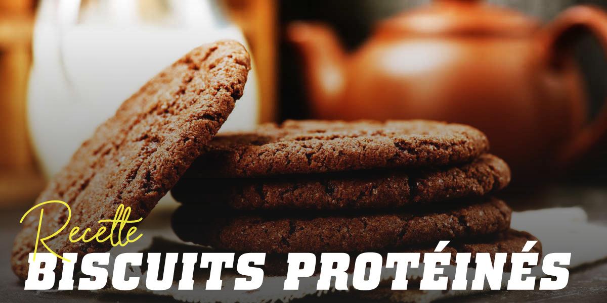 Biscuits avec Protéine