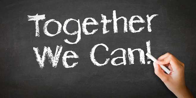 Ensemble on peut