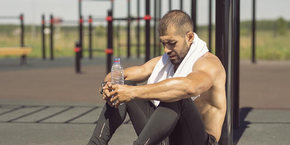 Fatigue après l'entraînement