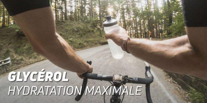 Le glycérol pour assurer l'hydratation