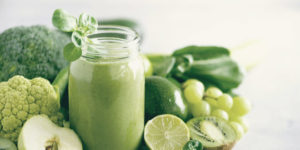 Vitamines des Aliments verts