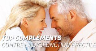 Top compléments contre la dysfonction erectile