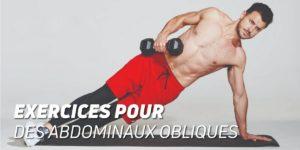 Exercices pour des abdominaux obliques