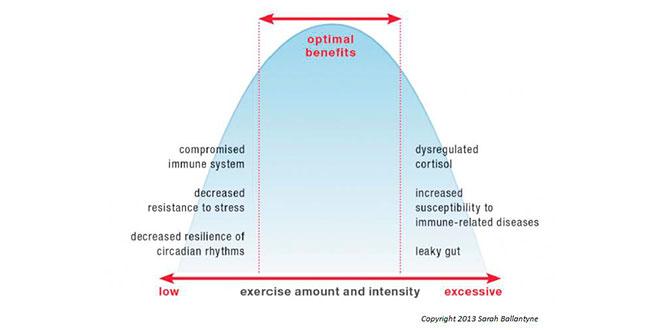 Excès d'activité physique