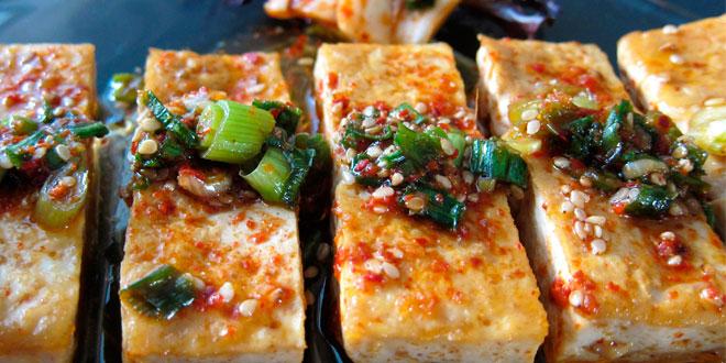 Tofu à la sauce barbecue