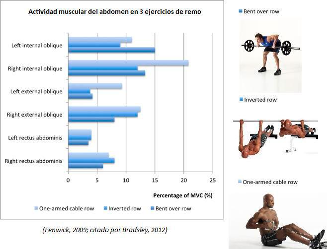 L'activité des muscles abdominaux