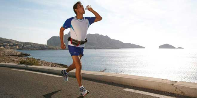 Courir et Hydratation