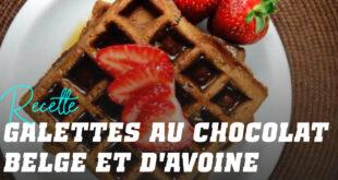 Crêpes à l'Avoine pour Gaufres au Chocolat Belge