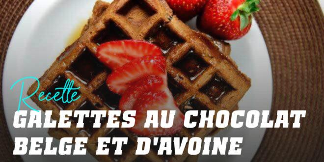 Pancakes à l'Avoine pour Gaufres au Chocolat Belge