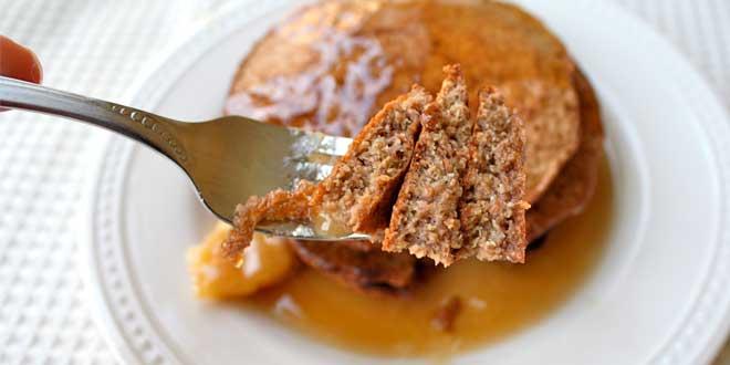 Pancakes à l'Avoine au style du Pain perdu