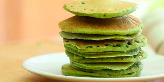 Pancake à l'Avoine et aux Pois