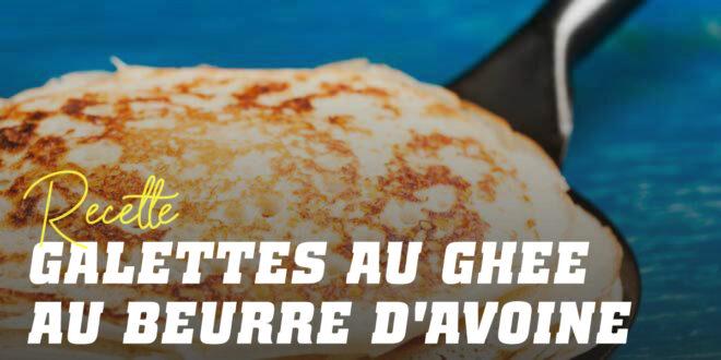 Pancakes à l'Avoine au Beurre de Ghee