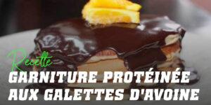Pancakes à l'Avoine avec Garniture Protéinée