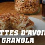 Pancakes à l'Avoine avec Granola