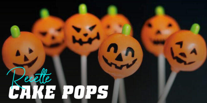 Cake Pops pour Halloween