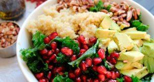 Salade de quinoa et grénade