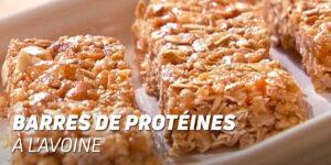 Barres de protéines à l'avoine