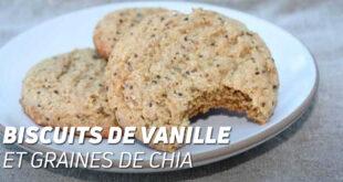 Biscuits de vanille et graines de chia