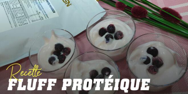 Fluff de Protéine avec des Blancs d'Oeuf