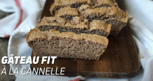 Gâteau Fit à la Cannelle