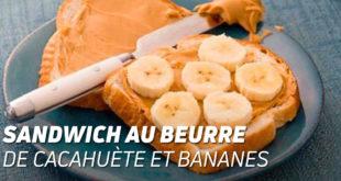 Sandwich au Beurre de Cacahuète