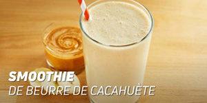 Smoothie au Beurre de Cacahuète