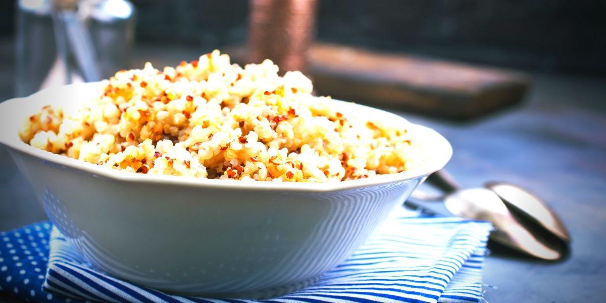 Quinoa comme source végétale