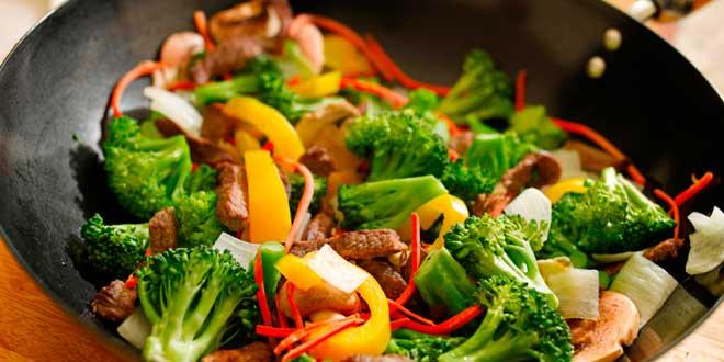 Wok légumes