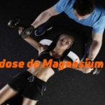 Dose de magnésium