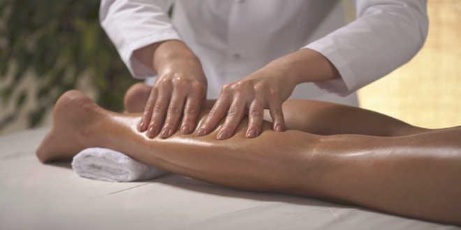 Massage pour les crampes