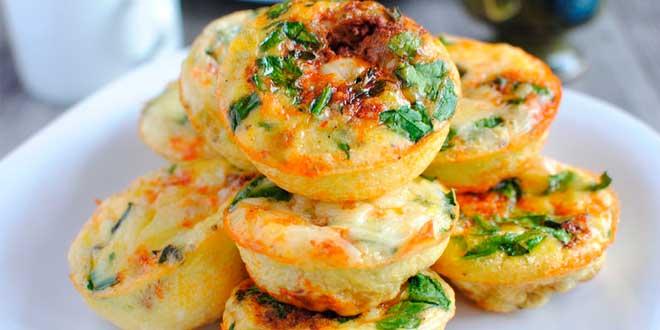 Mini Omelettes Frites