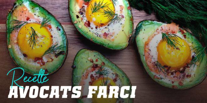 Avocats Farcis au Saumon et aux œufs