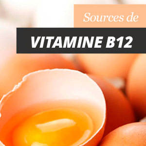 Sources de Vitamine B12