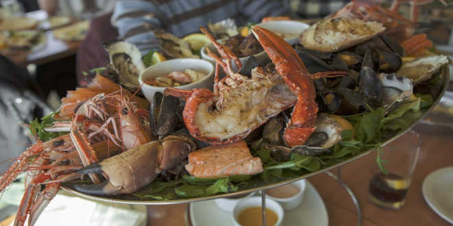 Fruits de mer comme source de vitamine D