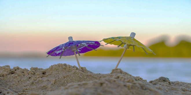 Rayons UV du soleil