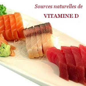 Sources de Vitamine D