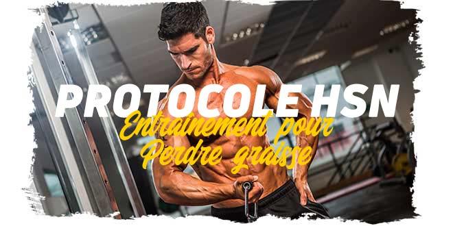 Protocole HSN: routine pour perdre du poids, semaine 1 et 2 (I)