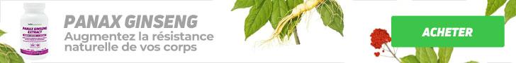 EXTRAIT  DE PANAX GINSENG – Augmente l'endurance naturelle de votre corps