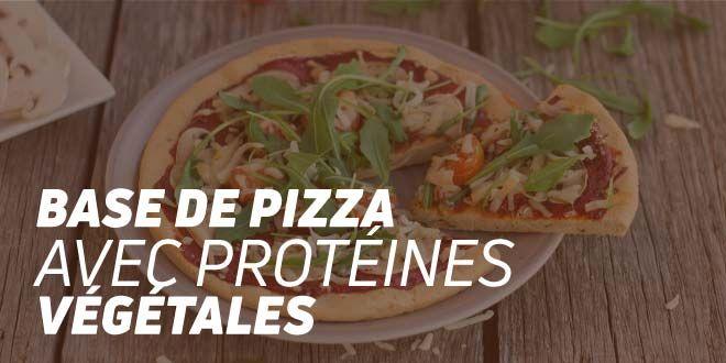 Base de Pizza Avec des Protéines Végétales Fitness