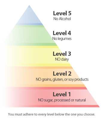 Pyramide du régime Paléo